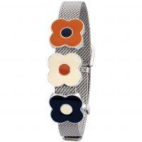 femme Orla Kiely Jewellery Abacus Flower Mesh Bracelet Watch B4989