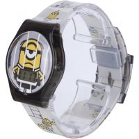 enfant Character Despicable Me 3 Printed Strap LCD Watch MNS115