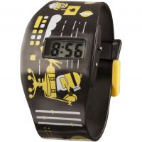 Childrens Character Despicable Me 3 All Over Print LCD Watch