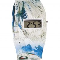 Childrens Character Star Wars Classic Characters All Over Print LCD Watch