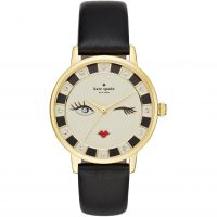 Kate Spade New York Metro Dameshorloge Zwart KSW1052