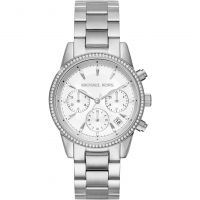 Damen Michael Kors Ritz Chronograph Watch MK6428