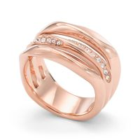 Ladies Fossil Rose Gold Plated JF01321791508