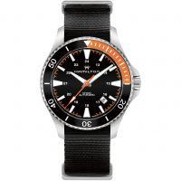 Herren Hamilton Khaki Navy Watch H82305931