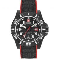 Herren Swiss Military Hanowa Schwarz Carbon Uhren