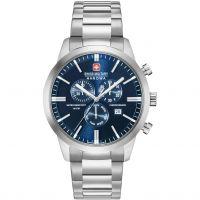 Herren Swiss Military Hanowa Chrono Classic Chronograph Watch 06-5308.04.003