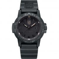 Mens Luminox 0320 Series Giant Leatherback Sea Turtle Blackout Watch