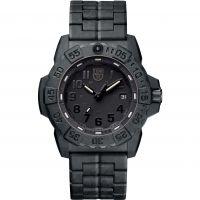 Herren Luminox 3500 Serie Navy Seal Blackout Uhren