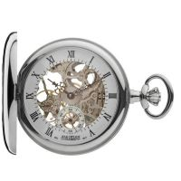 poche Jean Pierre Half Hunter Pocket Watch JP-G303CM