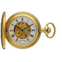 Taschenuhr Mount Royal Half Hunter Pocket Watch MR-B25