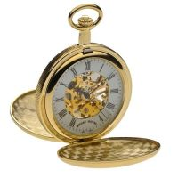Taschenuhr Mount Royal Double Hunter Pocket Watch MR-B27