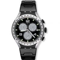Unisex Swatch Night Attack Chronograph Watch YYS4026AG