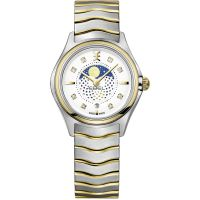 Damen Ebel Wave Mini Moonphase Watch 1216373