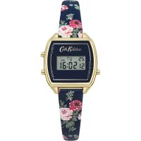femme Cath Kidston Antique Rose Digital Chronograph Watch CKL034U