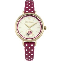 Ladies Cath Kidston Wells Rose Berry Spot Watch