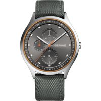 Mens Bering Ultra Light Titanium Watch