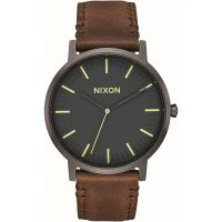 Unisex Nixon The Porter Leather Watch