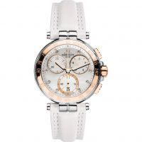 femme Michel Herbelin Newport Chronograph Watch 33656/TR59BLA