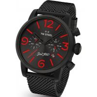 Orologio Cronógrafo da Uomo TW Steel Son Of Time Tempus Fury Limited Edition MST14
