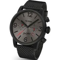 Herren TW Steel Son Of Time Aeon Limited Edition Chronograph 48mm Watch MST4