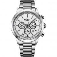 Herren Rotary Cambridge Chronograph Watch GB05253/02