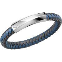 homme Calvin Klein Jewellery Bewilder Leather Bracelet Watch KJ2BAB09020M