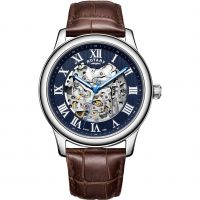 homme Rotary Exclusive Skeleton Watch GS00625/05