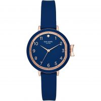 femme Kate Spade New York Park Row Silicone Watch KSW1353