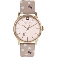 Ladies Radley Vintage Dog Dot Watch
