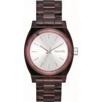 Unisex Nixon The Medium Time Teller Acetate x Mazzucchelli Watch A1214-200