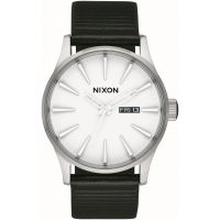 homme Nixon The Sentry Leather Watch A105-2855