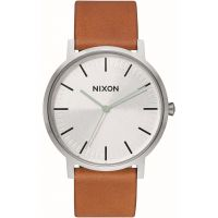 Nixon The Porter Leather Unisexklocka Brun A1058-2853