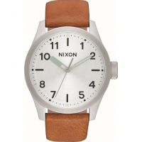 Herren Nixon The Safari Leather Watch A975-2853