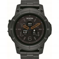 Herren Nixon The Mission SS Alarm Chronograph Watch A1216-000
