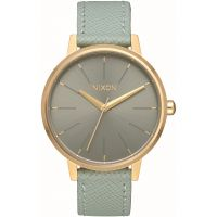 Nixon The Kensington Leather Damklocka Grön A108-2814