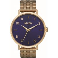 Nixon The Arrow Damklocka Guld A1090-933
