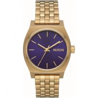 Nixon The Medium Time Teller Unisexklocka Guld A1130-2811