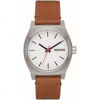 Unisex Nixon The mittelgroß Zeit Teller Leder Uhren