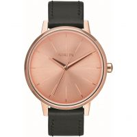Nixon The Kensington Leather Pack Unisexklocka Svart A1190-2780