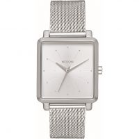 Unisex Nixon The K Quadratisch Milanaise-Geflecht  Uhren