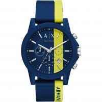 Herren Armani Exchange Chronograf Uhr