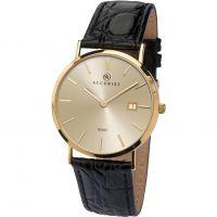 Herren Accurist Gold Watch 7802