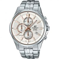 Casio Edifice Sapphire Herrkronograf Silver EFB-530D-7AVUER