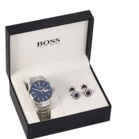 Hugo Boss Gift Set Herenhorloge Zilver 1570059
