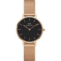 femme Daniel Wellington Classic Petite 28 Melrose Black Watch DW00100217