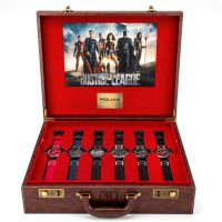 Zegarek męski Police Justice League Limited Edition Heroes Box Set 14536JS/SET