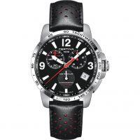 Mens Certina DS Podium Quartz Chronometer Chronograph Watch