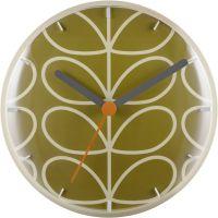 Wanduhr Orla Kiely Clocks Moss Wall Clock OK-WCLOCK02