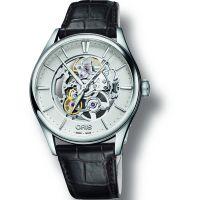 homme Oris Artelier Skeleton Watch 0173477214051-0752165FC