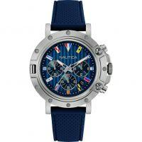 Herren Nautica NST800 Flag Chronograph Watch NAD17530G